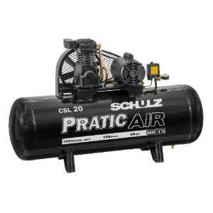 Compressor de ar CSL20/150 Pratic Air – 220v – Schulz